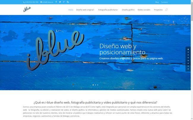 Diseño web, diseño paginas web, creacion paginas web para Málaga