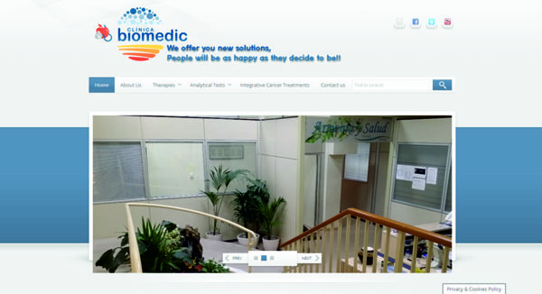 Diseño web clinica medica