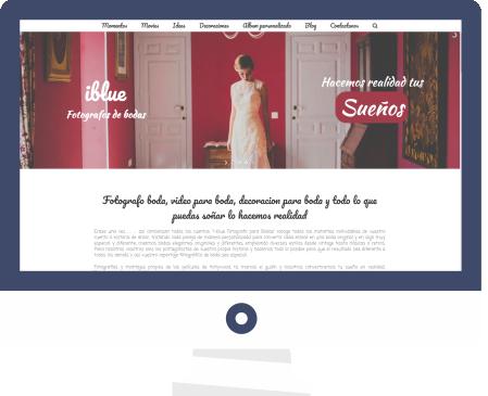 diseño web, diseño grafico, i-blue Malaga