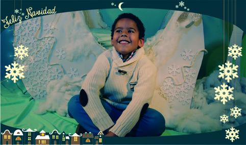 Nuestra primera felicitacion de navidad 2014