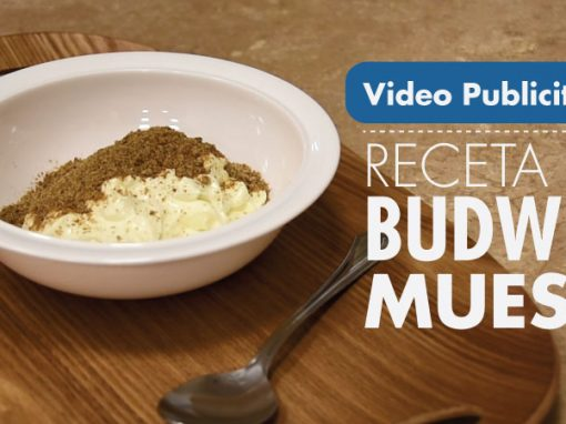 Video promocional para Budwig Center, recetas saludables